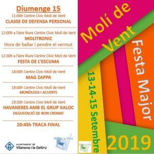festa major 2019 diumenge